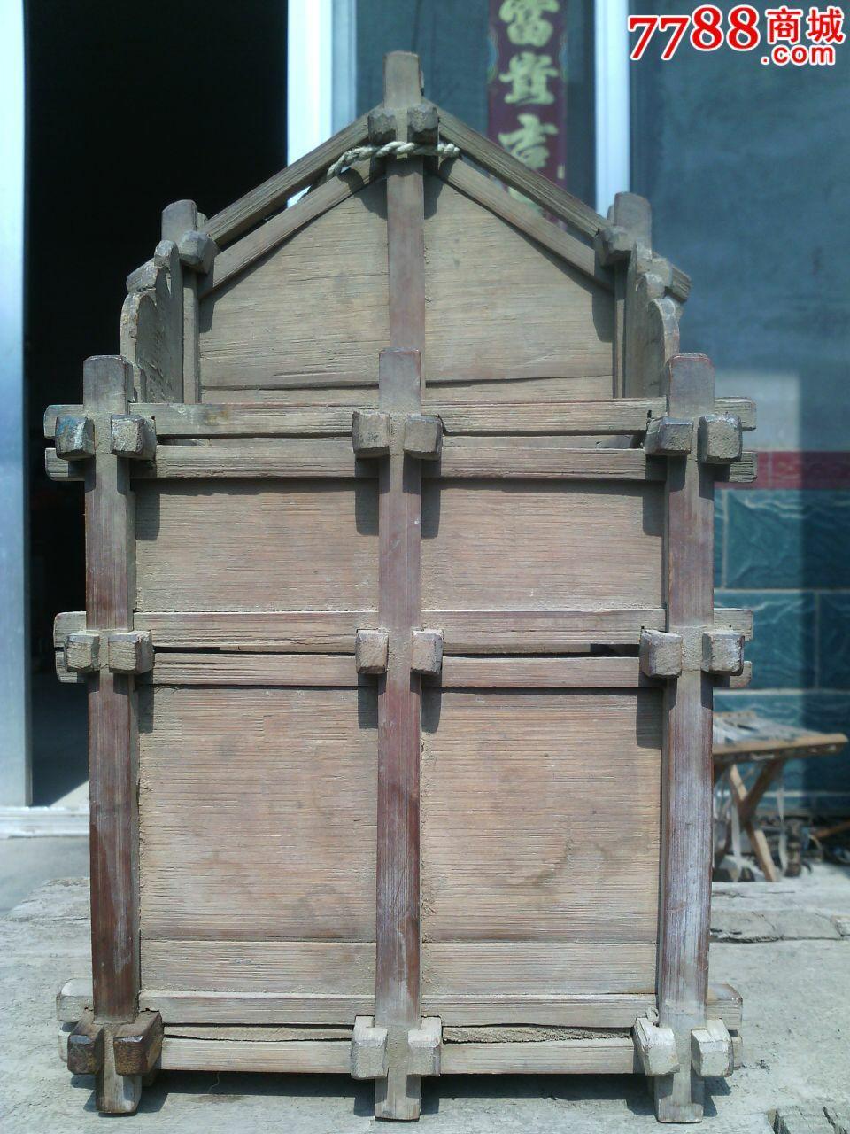 老手工制作筷子笼子