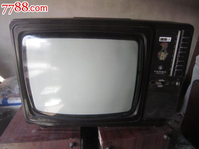 熊猫牌彩色电视机