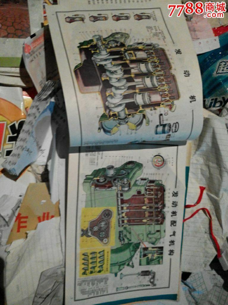 拖拉机结构图册_价格20.0000元_第3张_7788收藏__中国收藏热线