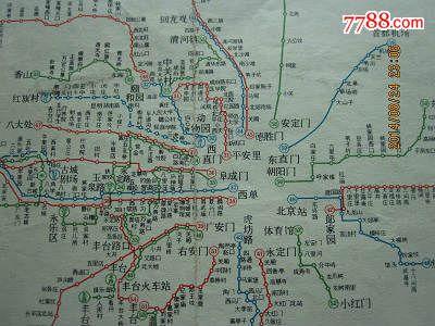 北京市公交线路地图