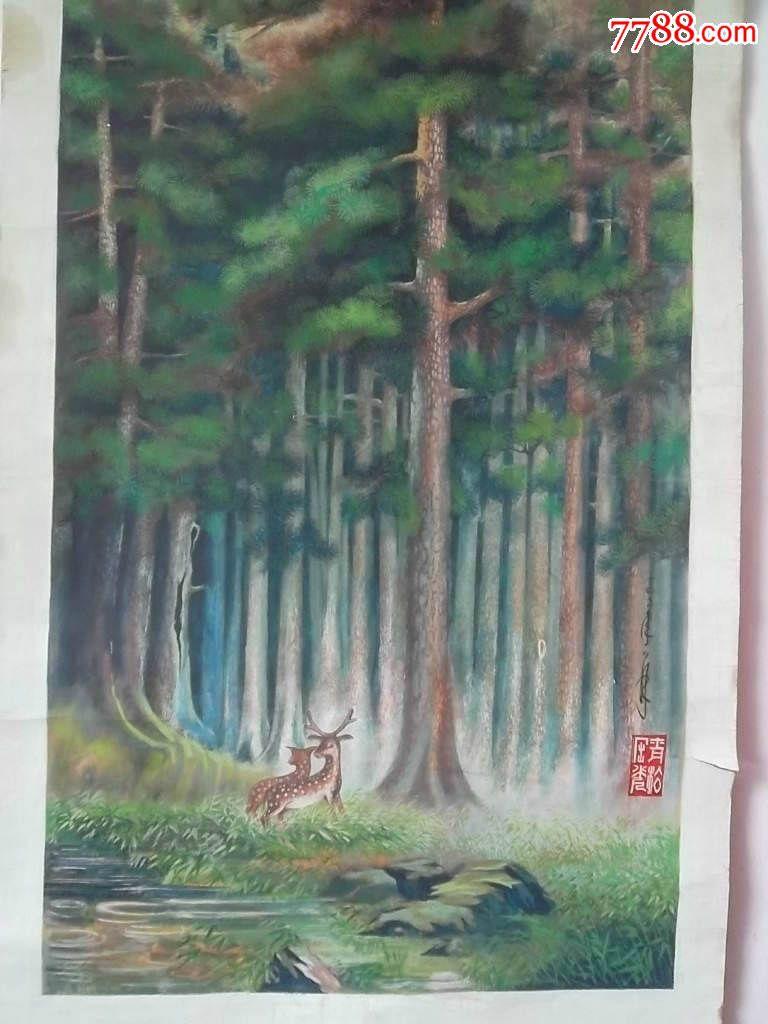森林中的小鹿