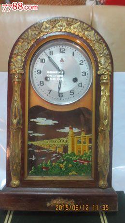 老式座钟图片