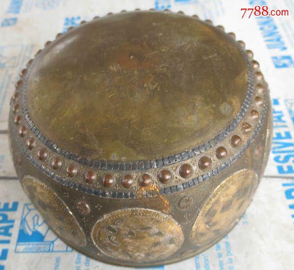 童手工制作铜鼓
