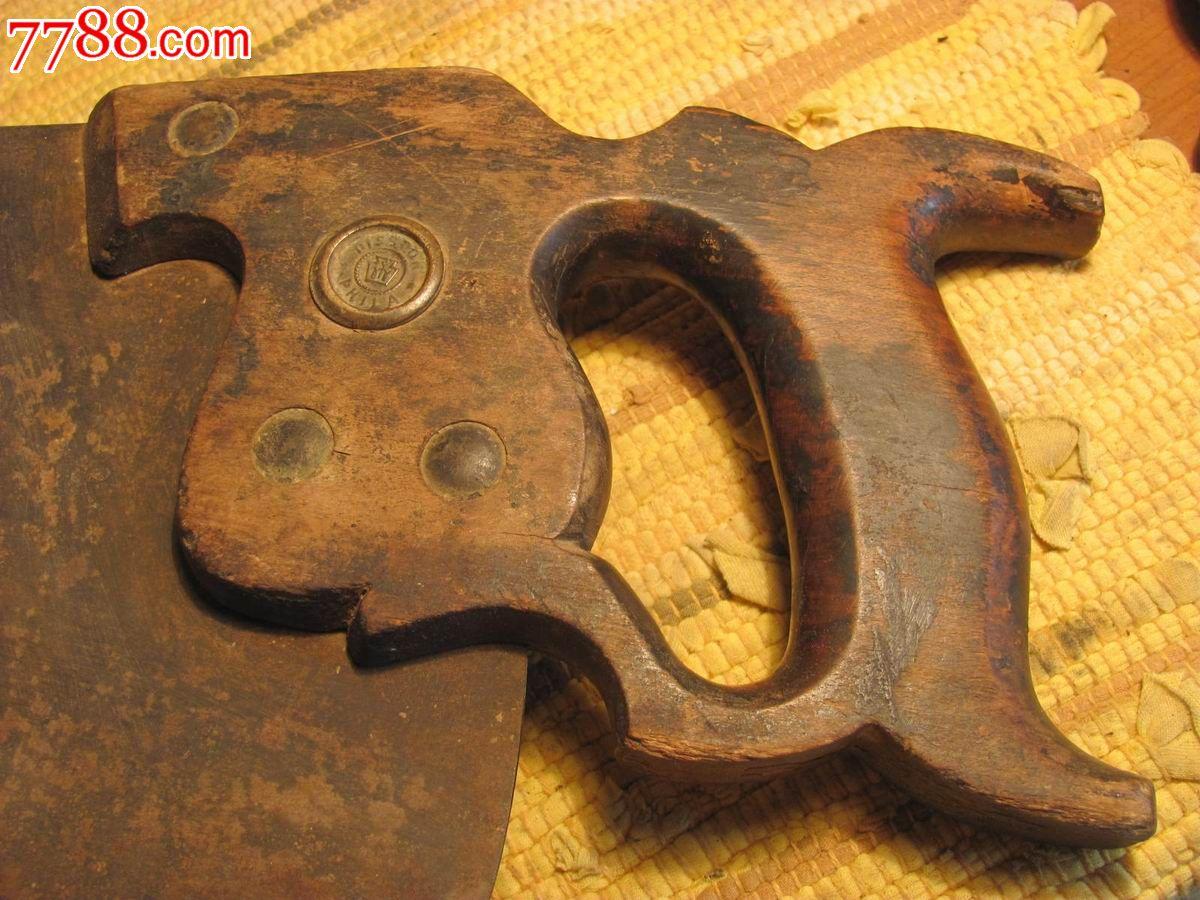 民国抗战时期飞虎队遗留云南昆明的美国百年老牌特世途(disston)板锯