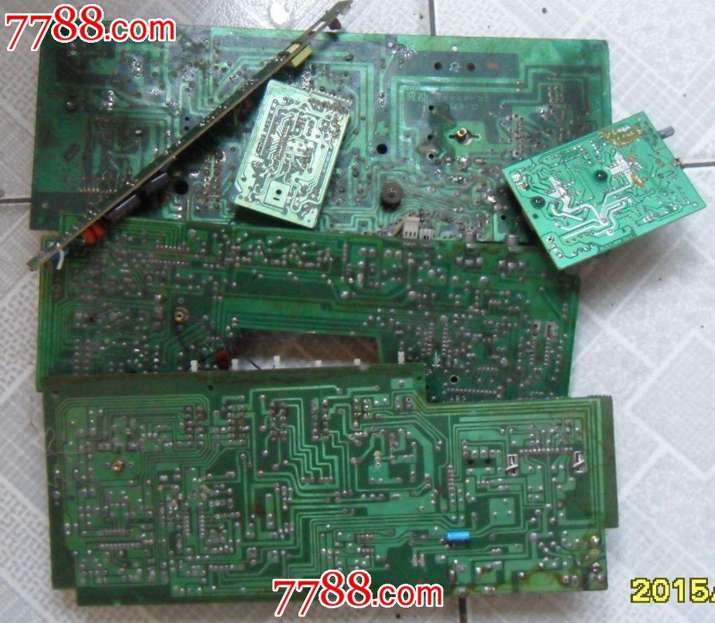 拆机收录机电路板/电源