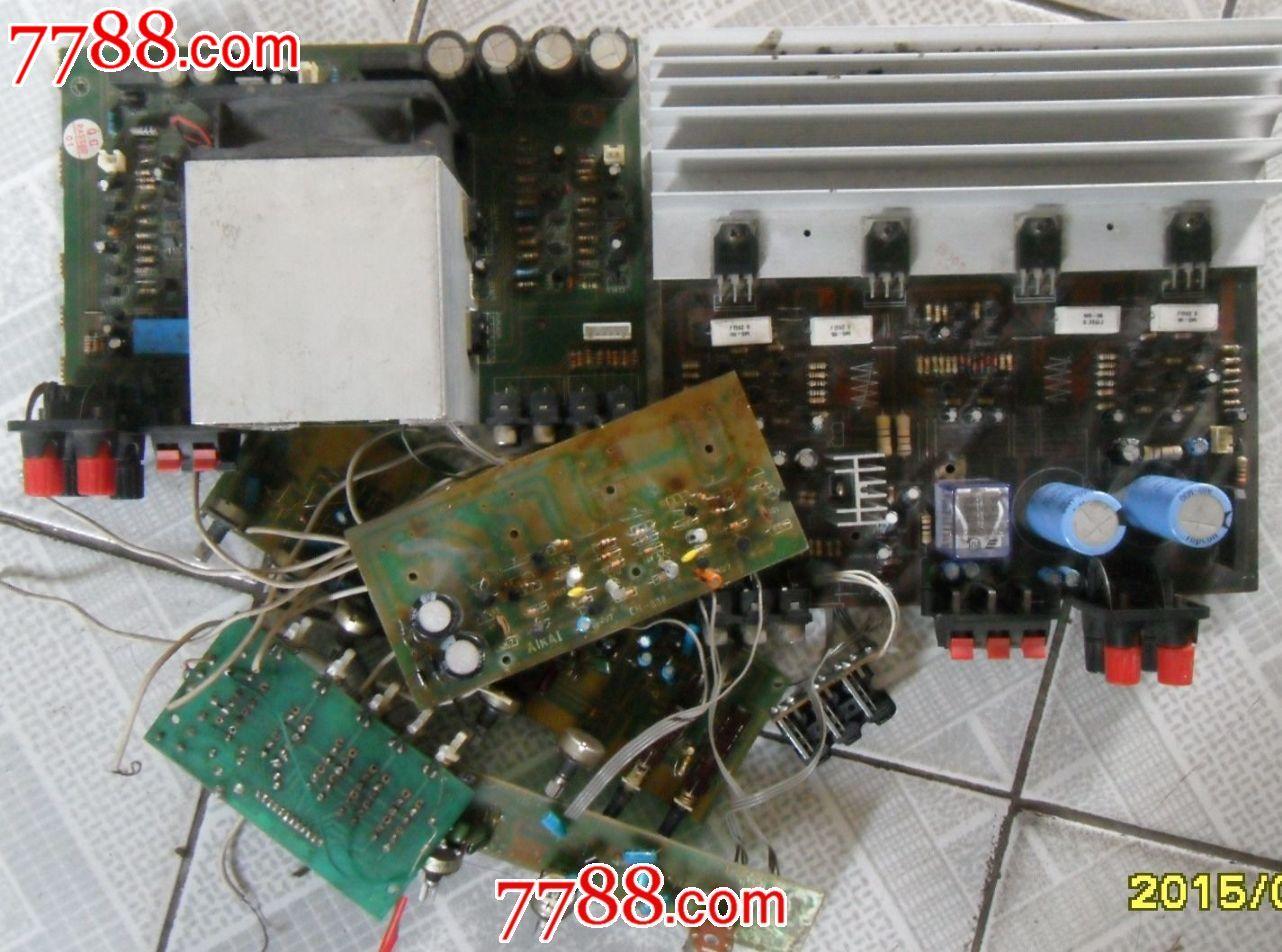 cd/功放拆机电路板