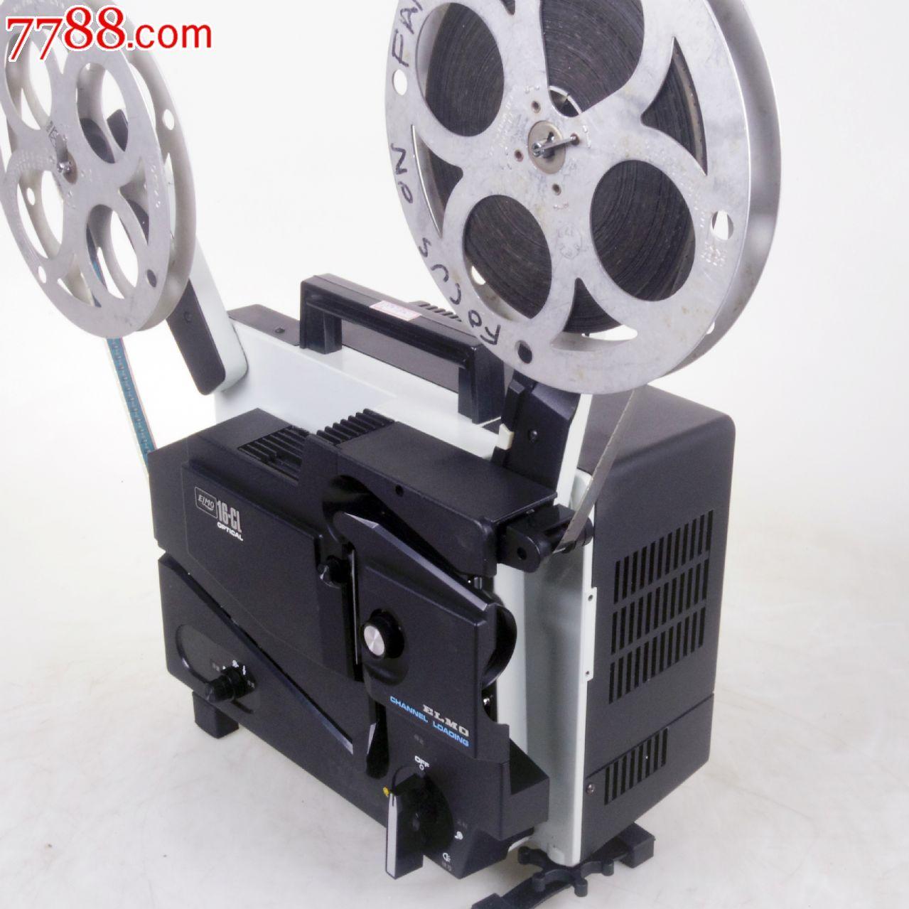 古董放映机爱尔莫elmo16-cl槽式16毫米电影机放映机有图片