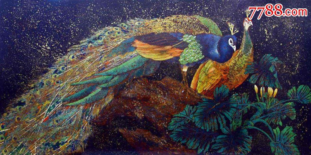 宏图大势系列之三——职业漆画家雷林涛作品