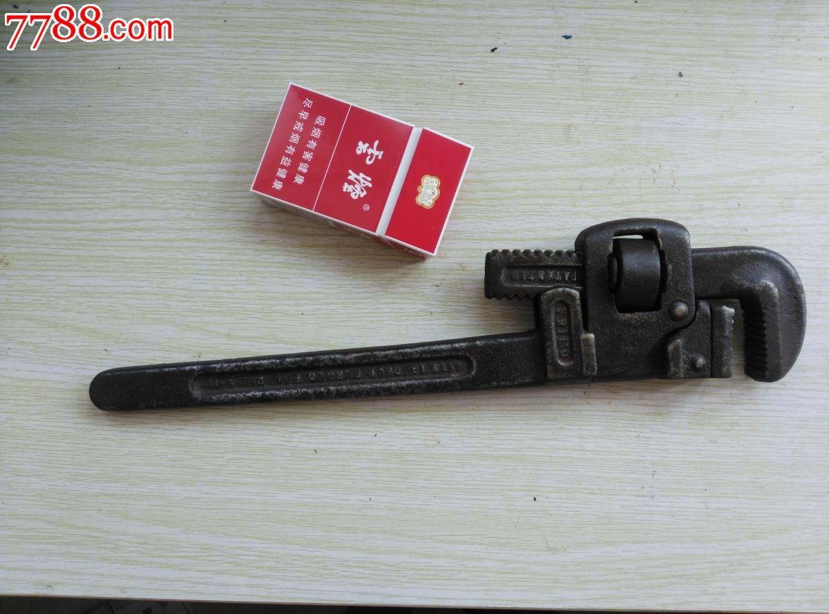 美国老管钳扭簧机配件图片