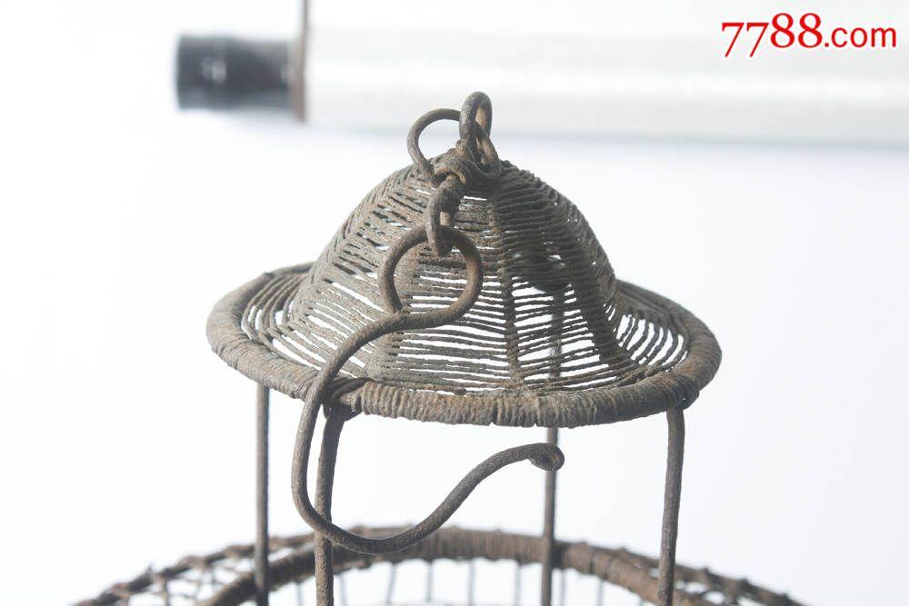 铁丝编织圆筒灯笼