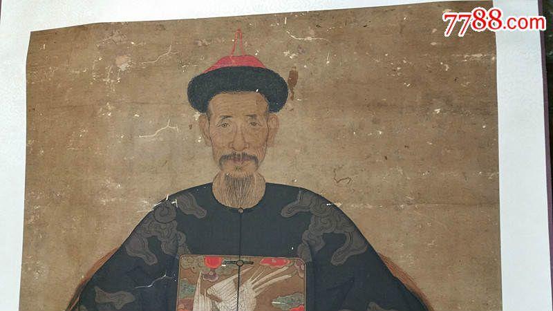 清代官员人物画像-人物国画原作--se32322629-零售