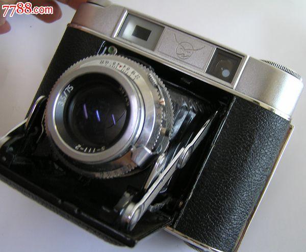 海鸥203老式皮腔折叠照相机.老上海古董相机