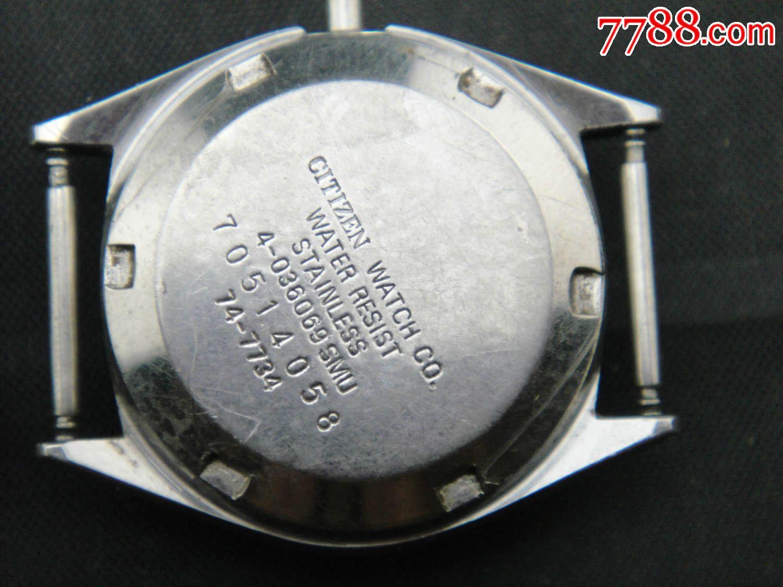 ahungse_西铁城全自动女机械表机芯6651a-se32734707-7788收藏