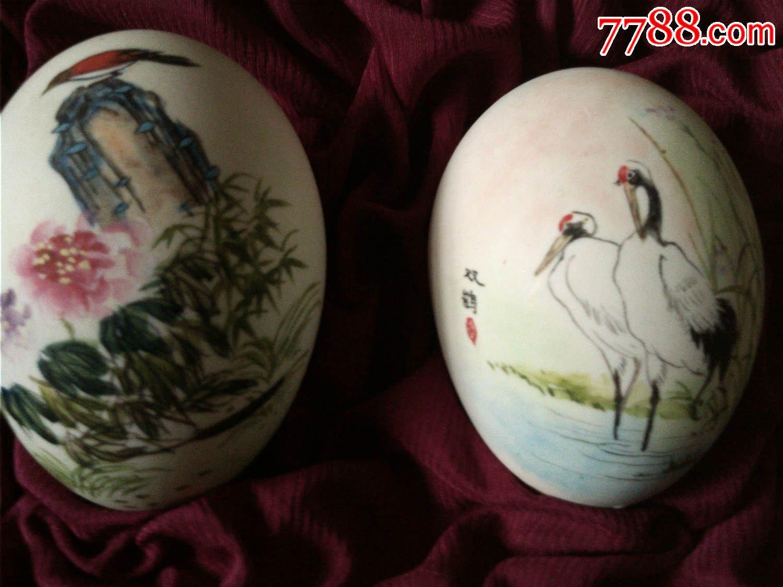 文革手绘彩蛋画