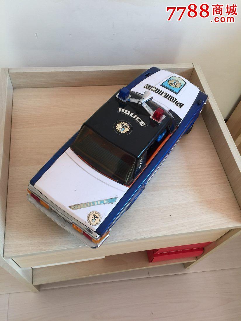 废物利用手工制作警车