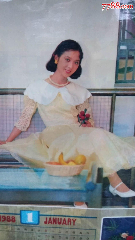 1988年《龚雪倩影》美女明星挂历
