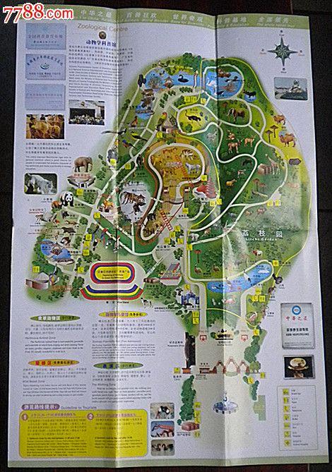 深圳野生动物园导游图