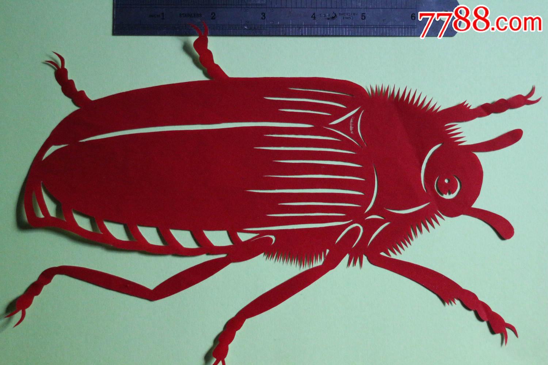 剪纸---昆虫