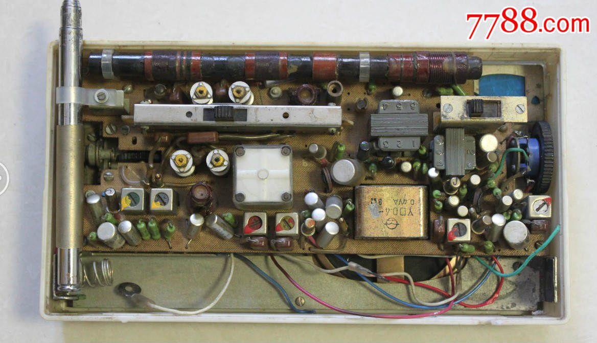 熊猫802-1收音机带表空