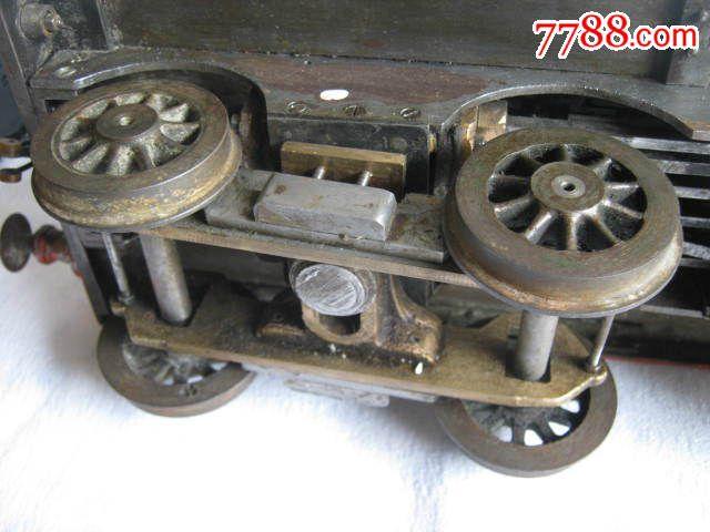 西洋模型蒸汽机古董火车APA006图纸图片