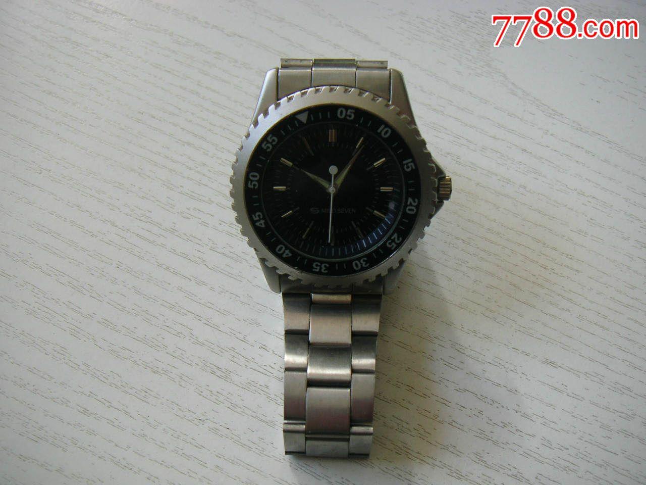 【日货】mildseven日本柔和七星男式手表,走时精准