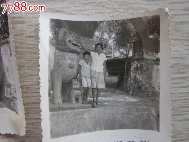 辽宁省葫芦岛市连山区钢屯镇老学校门口著名明代石狮子像
