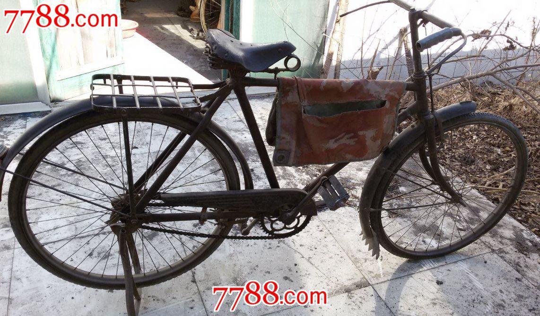 日本老式樱花自行车