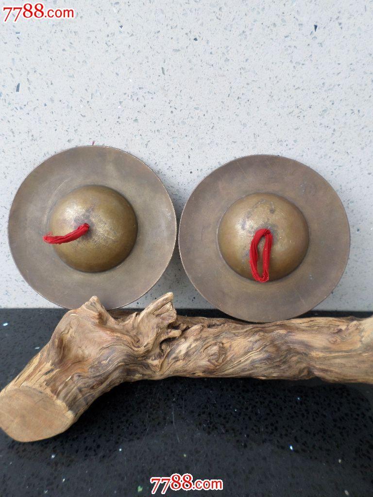 玩铜器老旧金属制品民族乐器纯铜黄响铜镲杂项了信微小视频没有图片