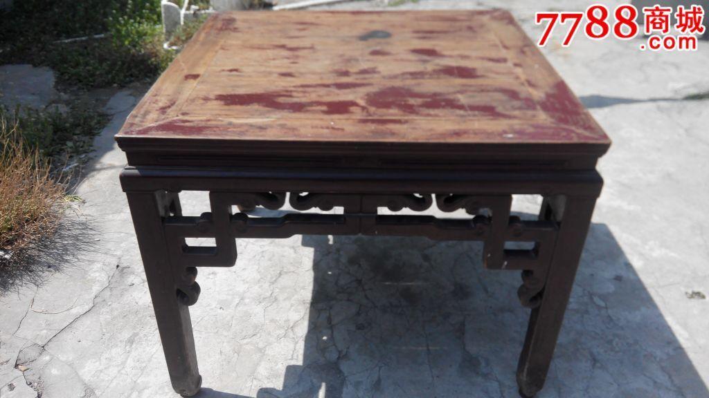老式八仙桌图片