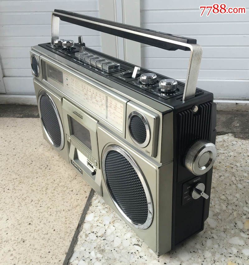 老物件录音机康艺8080-2s单卡收录机手提收录机录音机