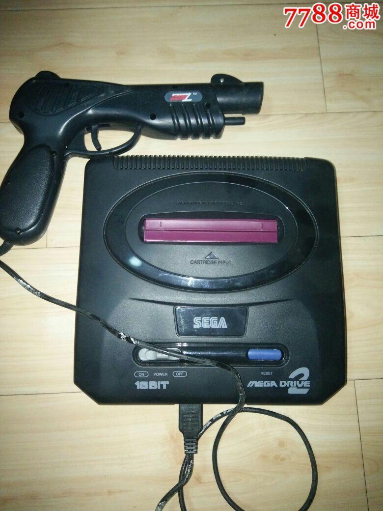 世嘉md2世嘉游戏机带带枪