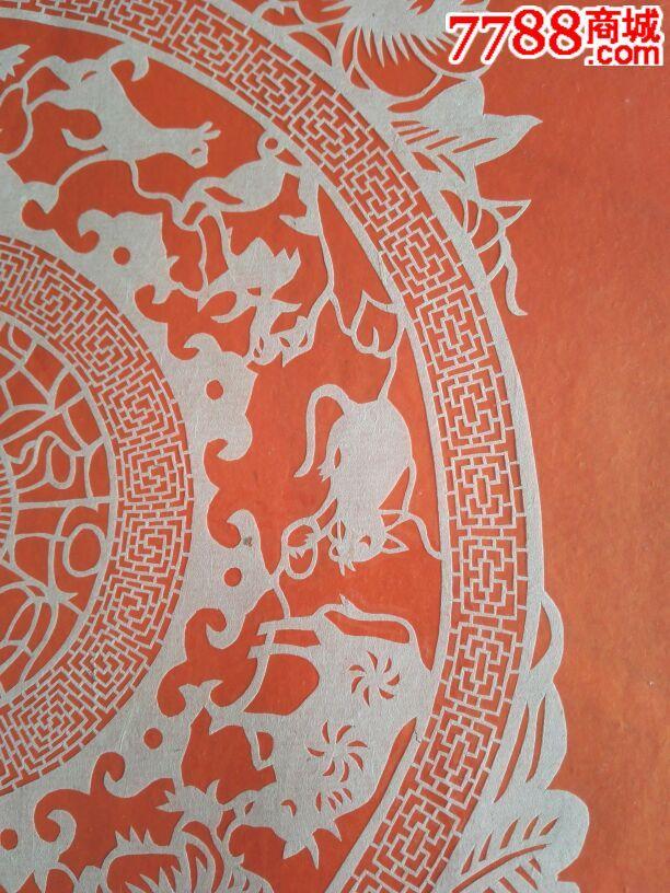 乐清细纹刻纸:十二生肖