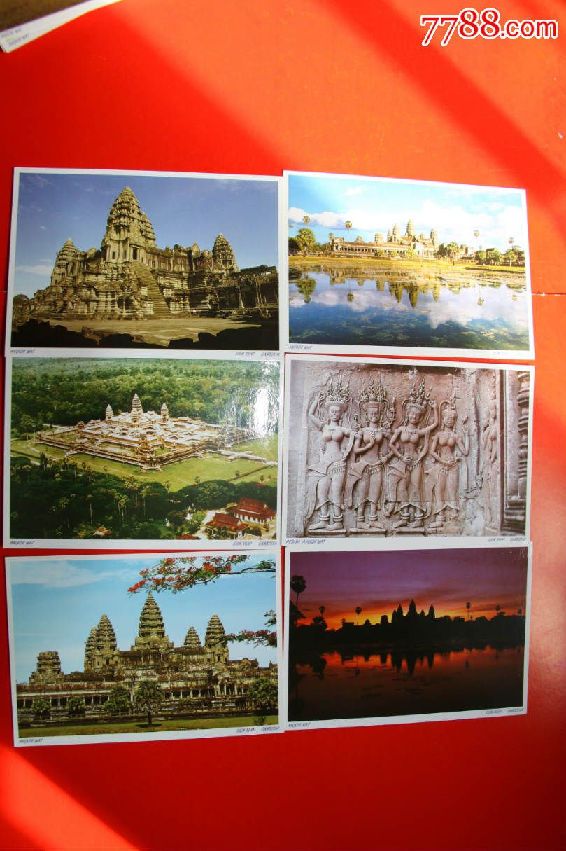 国外风光明信片