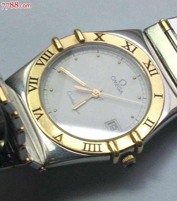 欧米茄18k间金星座石英欧米茄男表-se35611890-手表图片