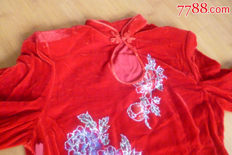 七八十年代的女式服装_女式旗袍.