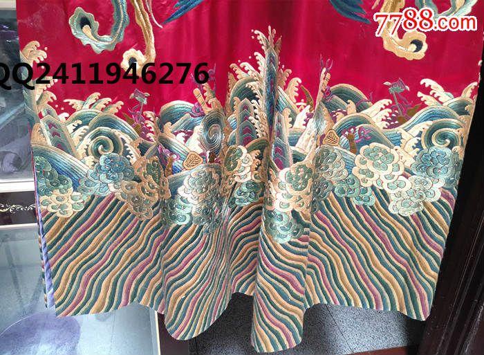 宫廷刺绣凤袍