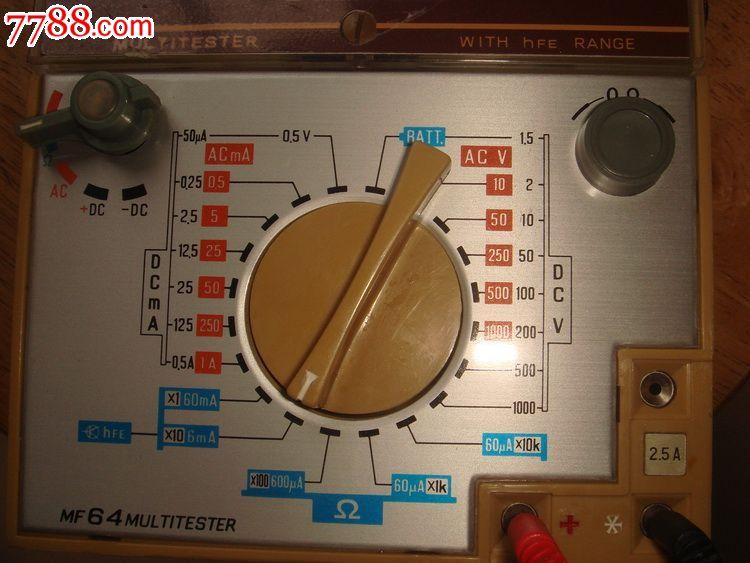 sibiaomf64万用表万能表_第2张_7788收藏__中国收藏热线