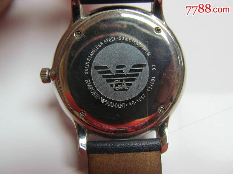 玛尼手表中国售后_二手男表玛尼男表石英表armani手表