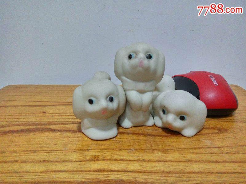 70-80年代瓷器韩美林动物摆件十二生肖狗