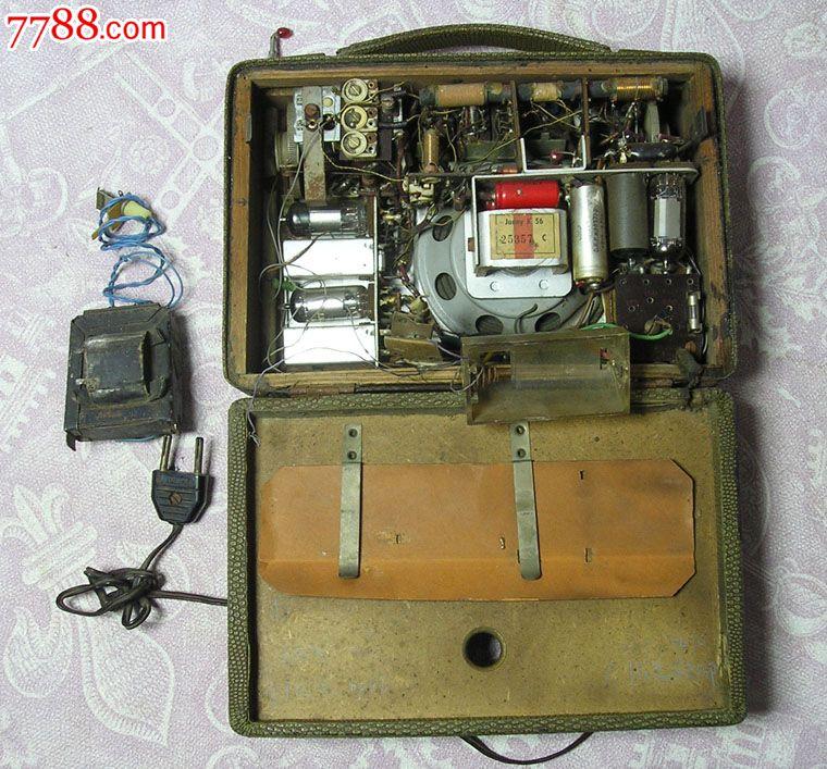 老式收藏道具苏联电子管收音机