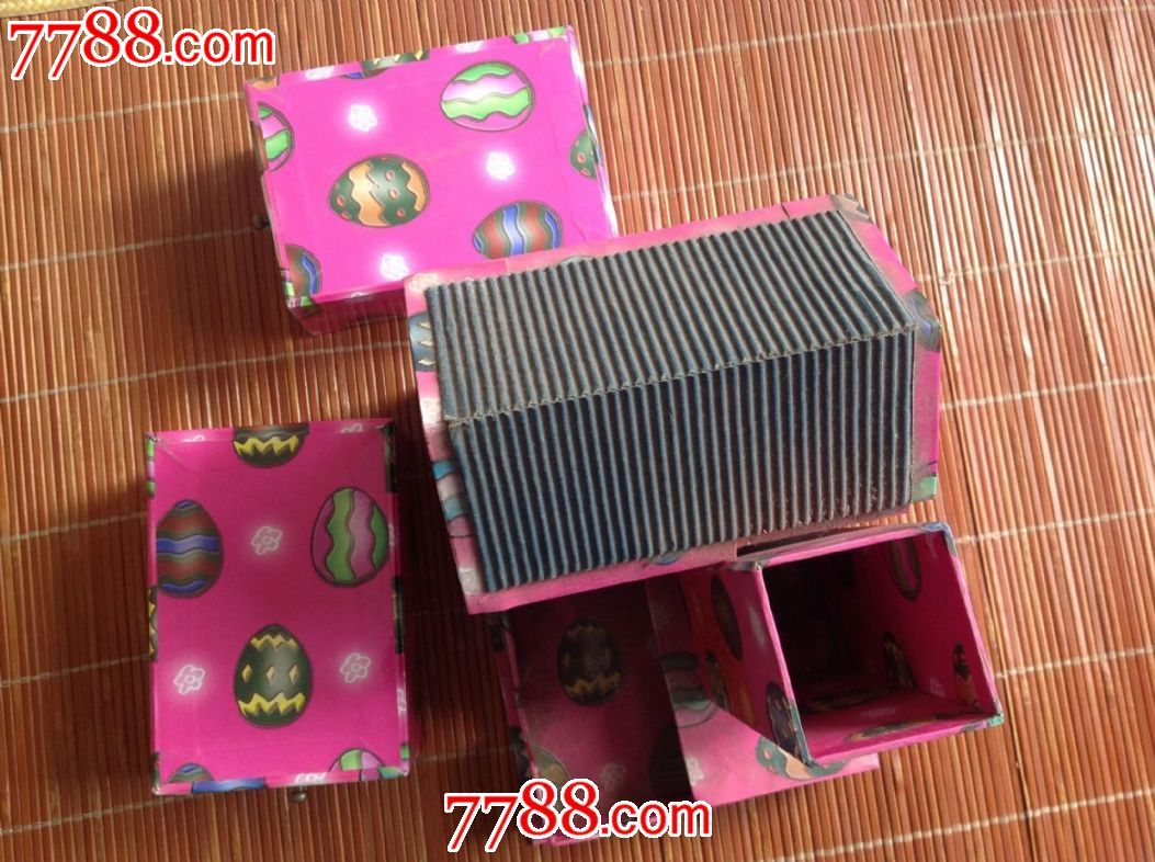 手工房子抽屉盒-价格:10.0000元-se37486436-旧盒子
