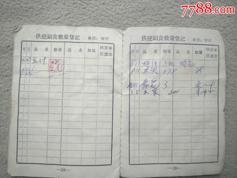 证书6356,青海省德令哈农场粮油供应证