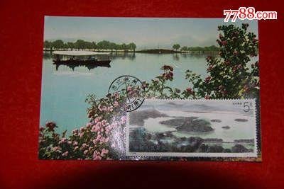 西湖极限明信片