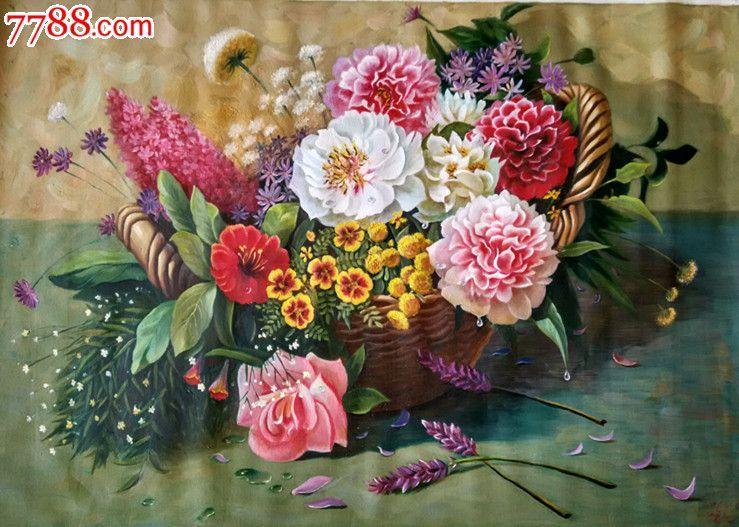 朝鲜一级画家崔明吉静物油画_第2张_7788收藏__中国收藏热线图片