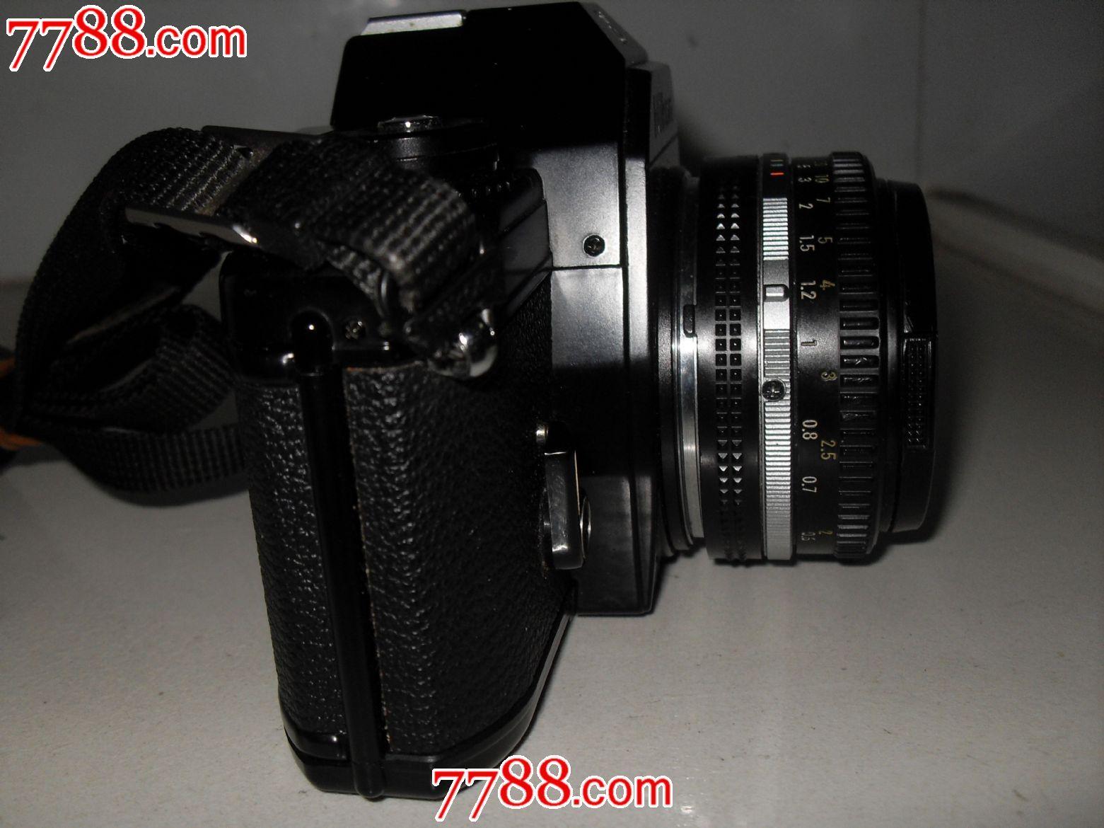 尼康em单反相机和尼柯尔1.8/50标准镜头