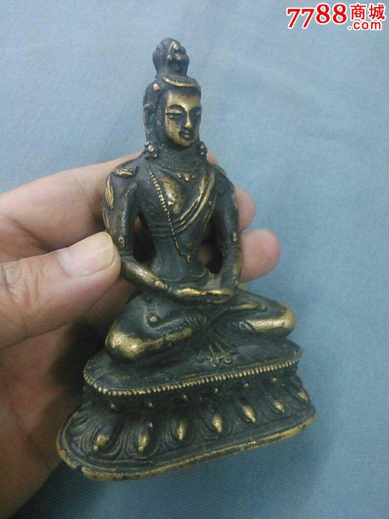 近现代铜佛像