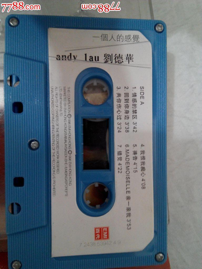 录音带:刘德华-一个人的感受