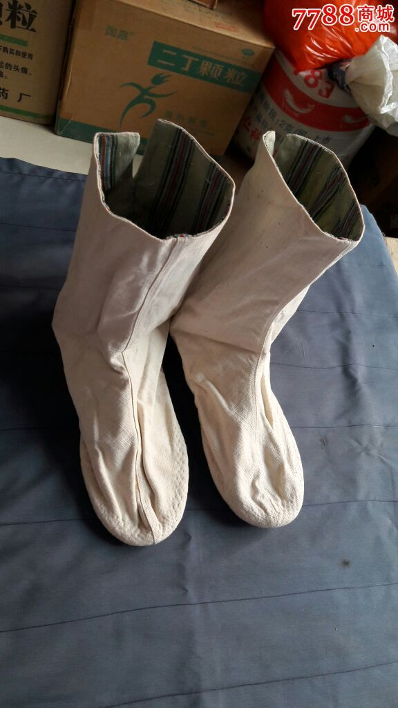 民国老布袜子一双(3)图片