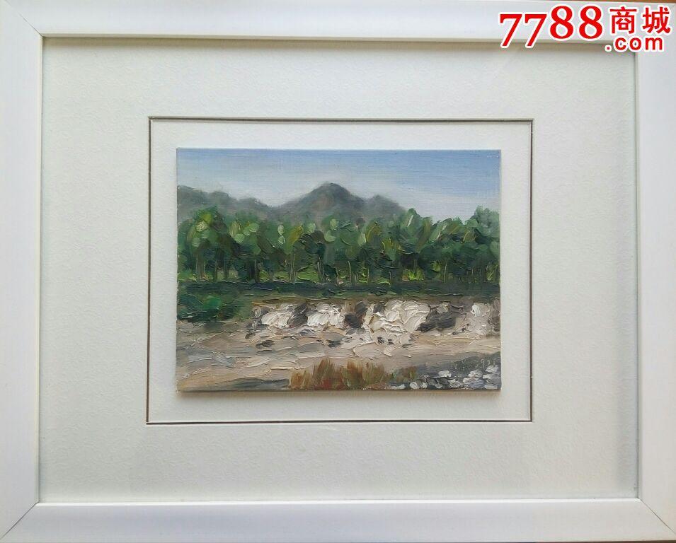 属性: 风景油画原画,,2010-2019年,,41-50cm,,画布,,镜框装裱,,, 简介