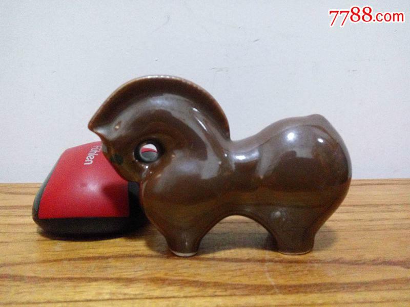 70-80年代动物瓷器摆件十二生肖马